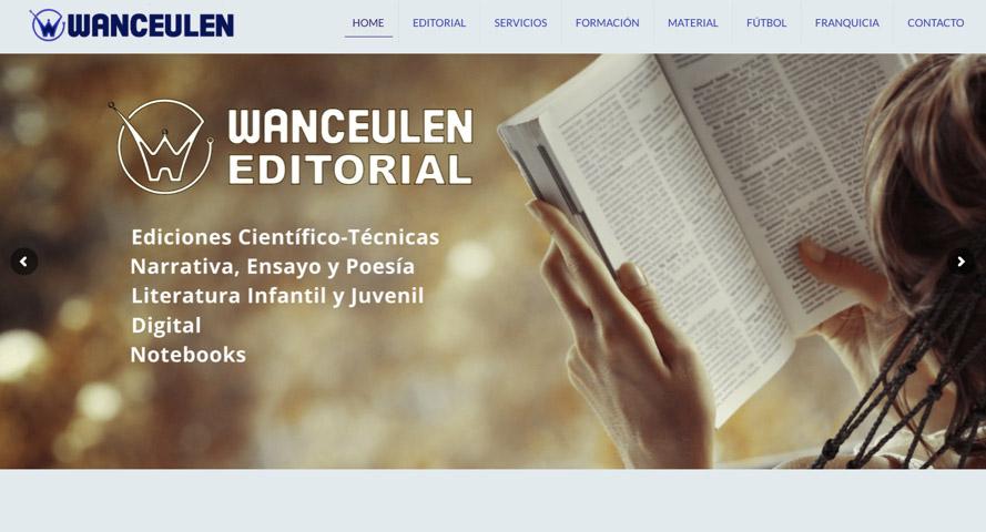 Nueva Web WANCEULEN EDITORIAL